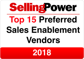 Selling Power Top 15 Preferred Sales Enablement Vendors