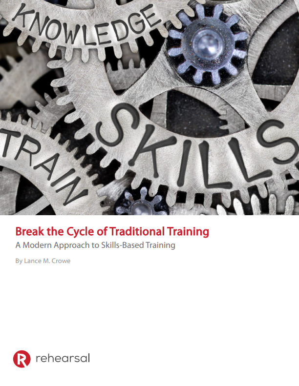 Break the Cycle of Traditional Training White Paper Cover