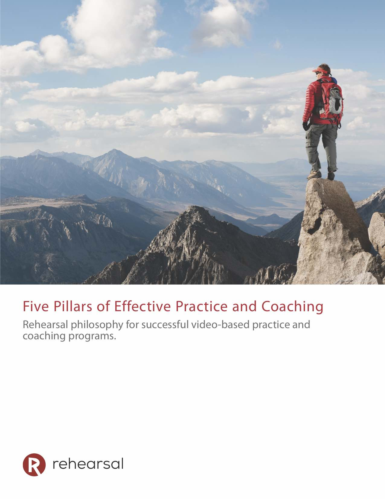 Five Pillars of Effective Practice and Coaching White Paper Cover