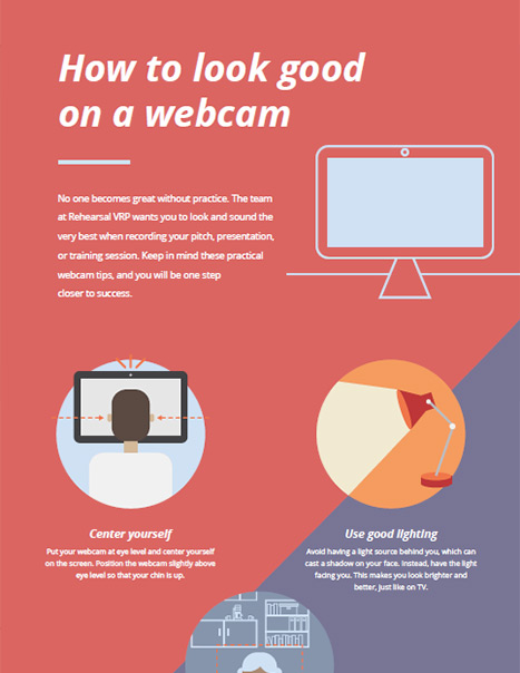 How to Look Good on a Webcam PDF Document