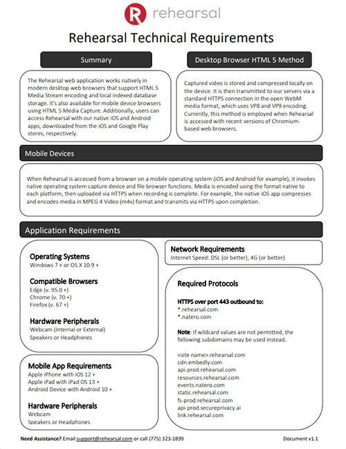 Technical Specifications PDF Document