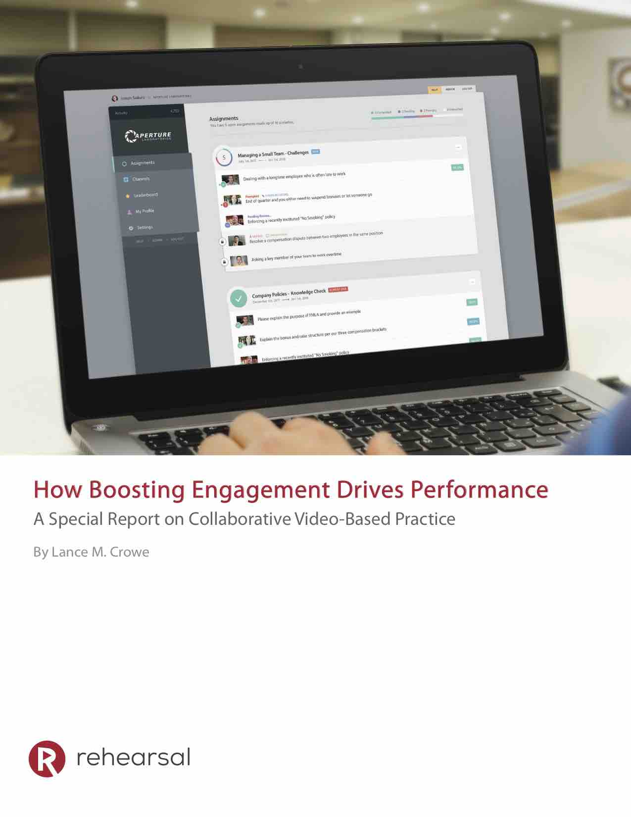 How Boosting Engagement Drives Performance White Paper Cover