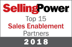 Selling Power Top 15 Sales Enablement Partner